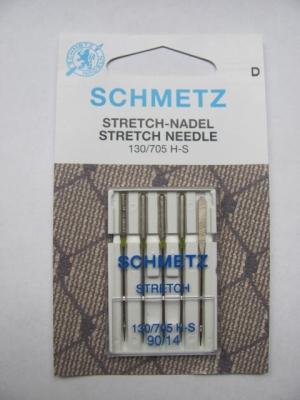 Nähmaschinennadeln Schmetz 705 H-S  Stretch Stärke 90
