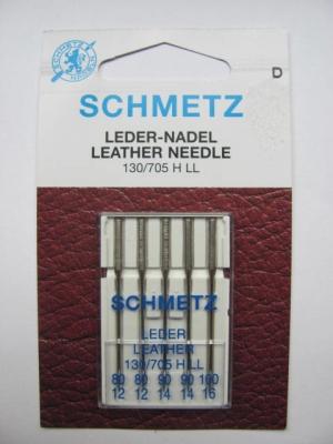 Nähmaschinennadeln Schmetz 705 H-LL Leder Stärke 80-100