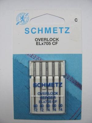 Overlock/Coverlock Nadeln ELx705 CF Stärke 80-90 Schmetz