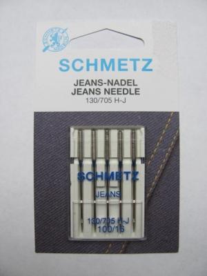 Nähmaschinennadeln Schmetz 705 H-Jeans Stärke 100